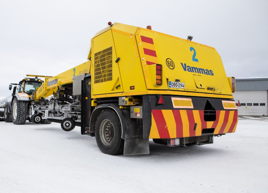 Fortbrand – Vammas snow clearing trailer